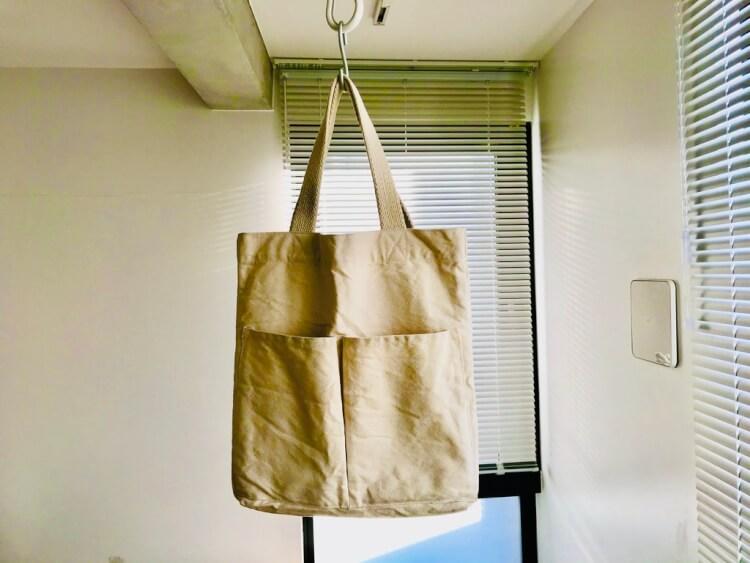 無印良品のトートバッグ