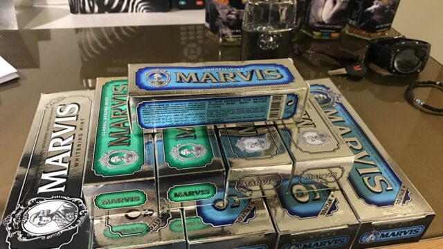 marvisの歯磨き粉