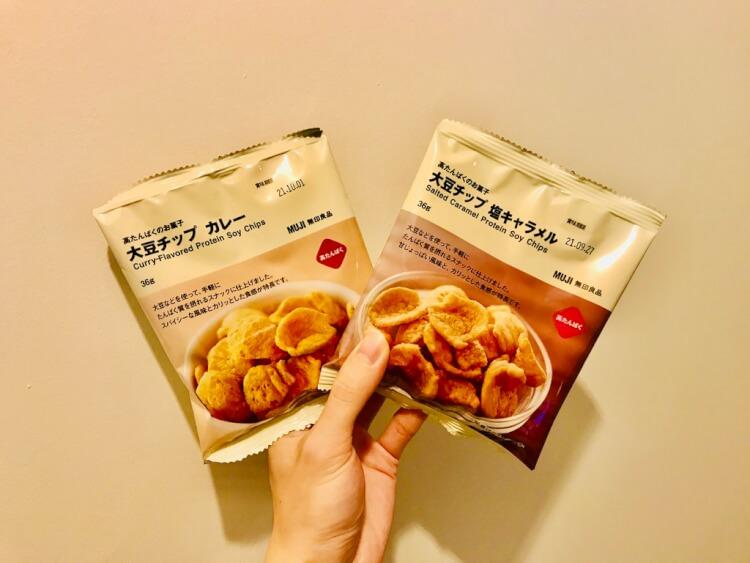 大豆チップス