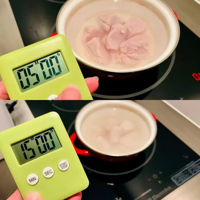 鶏胸肉 低温調理風