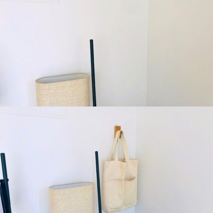 無印良品 壁に付けられる家具 フック