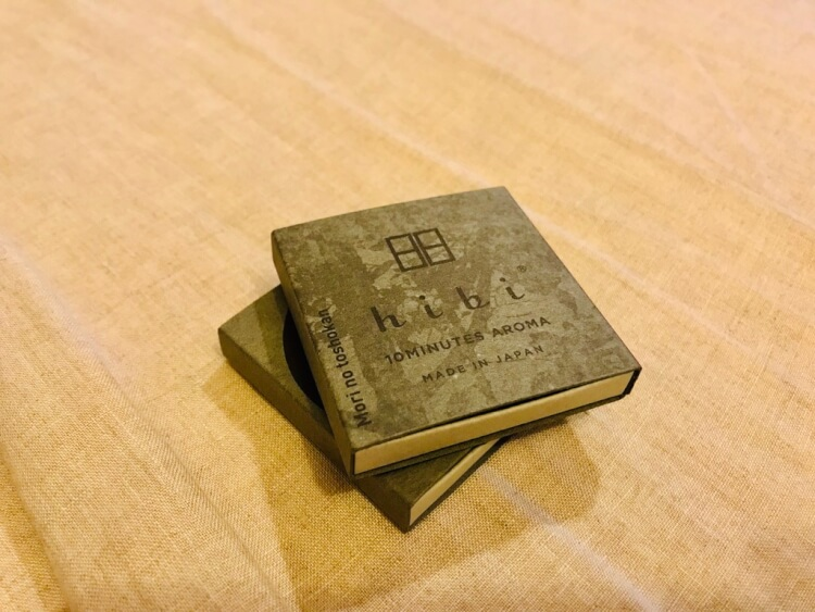 お香 hibi 森の図書館